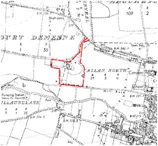 Figure 6: Ordnance Survey 6 inch map, 1829-1842